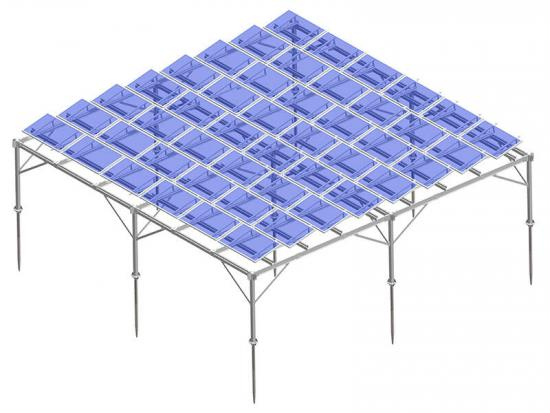 Solar mounts for sloping roof